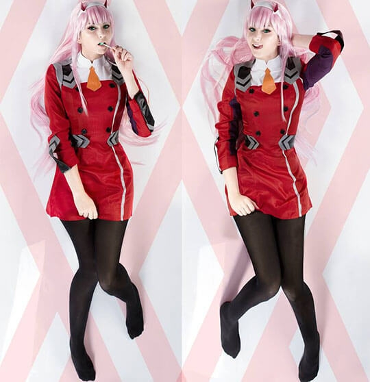 DARLING in the FRANXX 02 cosplay costumes
