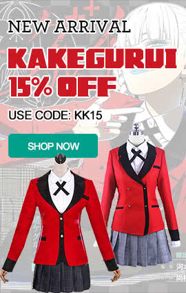 2017 new anime kakegurui cosplay